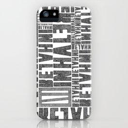 INhaler typo x2 iPhone Case