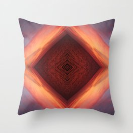 Sea Vortex Throw Pillow