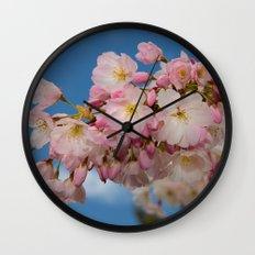 Cherry Blossoms (Edit 1) Wall Clock