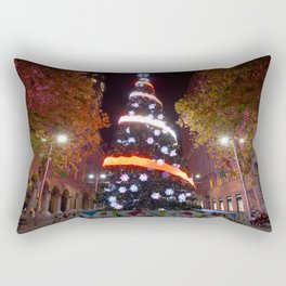 Christmas Tree, Martin Place, Sydney Rectangular Pillow
