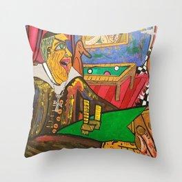 EL CURA Throw Pillow