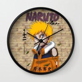 Naruto Uzumaki Wall Clock