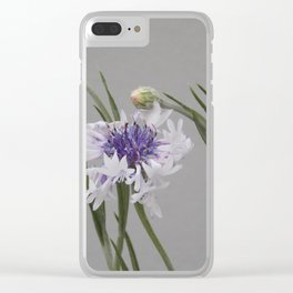 LEANING TO THE LIGHT Clear iPhone Case