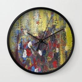 Lemon Rain Wall Clock