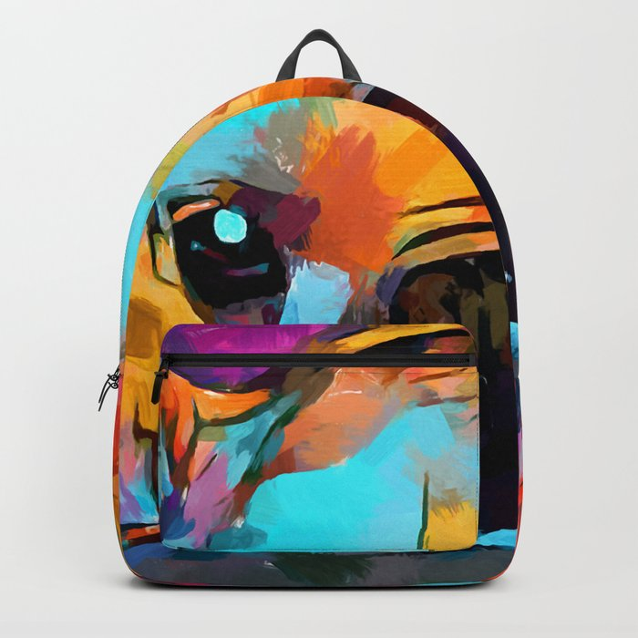 French Bulldog 3 Backpack