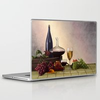 wine Laptop & iPad Skins featuring Wine by Azot