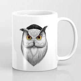 bearded owl Coffee Mug
