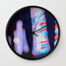 Christmas Vibes Wall Clock