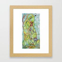 Eye Poisoning Framed Art Print