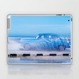 Waves and Classic Cars of the Malecón - 2 Laptop & iPad Skin