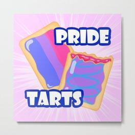 Bi Pride Tarts Metal Print