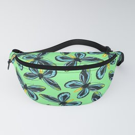 Queen Alexandra' s birdwing butterfly pattern Fanny Pack