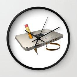 audio cassette /Marek/ Wall Clock