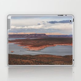 Cutting Through Lake Powell Laptop & iPad Skin