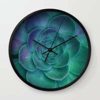 surrealism Wall Clocks featuring Surrealism by 83 Oranges™