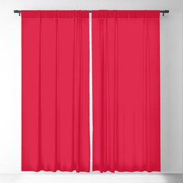 Crimson Red Blackout Curtain