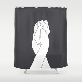 Never Let Me Go III Shower Curtain