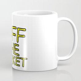 OFF THE MARKET Wedding Bachelor Party Bride Gift Coffee Mug