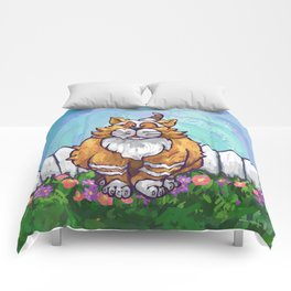 Animal Parade Ginger Cat Comforters