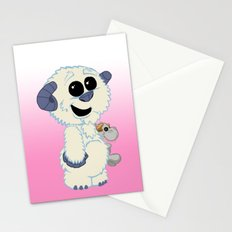 Lil Wampa (pink) Stationery Cards