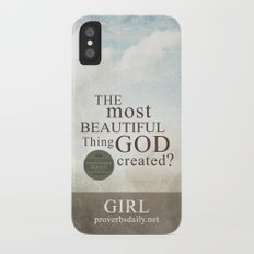 Most Beautiful Thing? iPhone X Slim Case