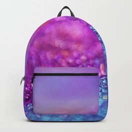 Colorful Purple Pink Glitter - Bokeh Lights Backpack