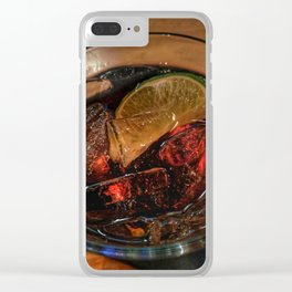 Rum and Coke Clear iPhone Case