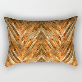 Wood Plank Texture Rectangular Pillow