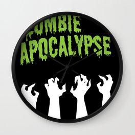 It's the Zombie Apocalypse Wall Clock