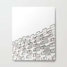 Architecture: brutalism Metal Print