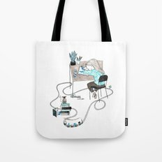 Work & Play Tote Bag