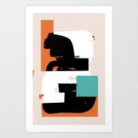 GOSH Art Print
