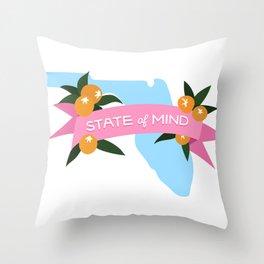 Florida State of Mind Throw Pillow