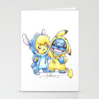 projectrocket Stationery Cards featuring No one gets left behind. by Randy C