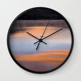Out of the Depths (Sunrise on Lake George) Wall Clock