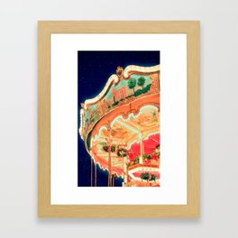 Around Christmas Framed Art Print