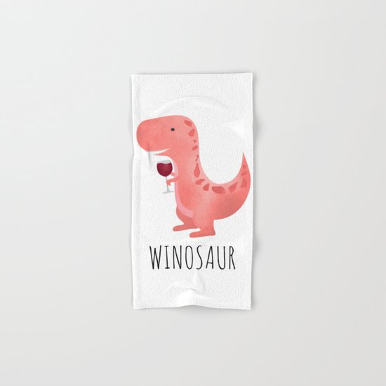 Winosaur Hand & Bath Towel
