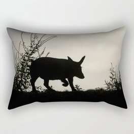 Wild Iberian Pig Rectangular Pillow