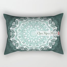 Mandala - Open Your Mind Rectangular Pillow