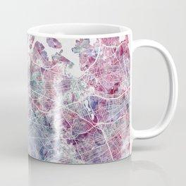 New York map Coffee Mug