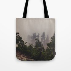 Mountaintop Forest Tote Bag