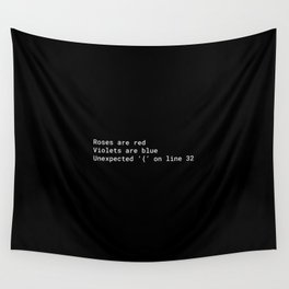 Programming Wall Tapestry