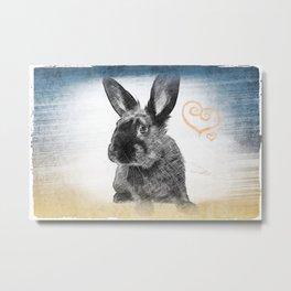 luv bunny Metal Print