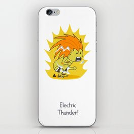 Electric Thunder! iPhone Skin