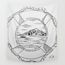 Porthole 2. Wall Tapestry