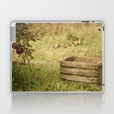 apple crate photograph Laptop & iPad Skin