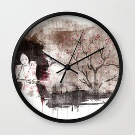 Derrotar al enemigo (color version) Wall Clock