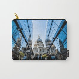 London City Blue Carry-All Pouch