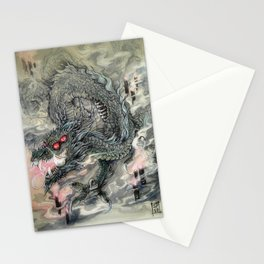 Candle Dragon Stationery Cards