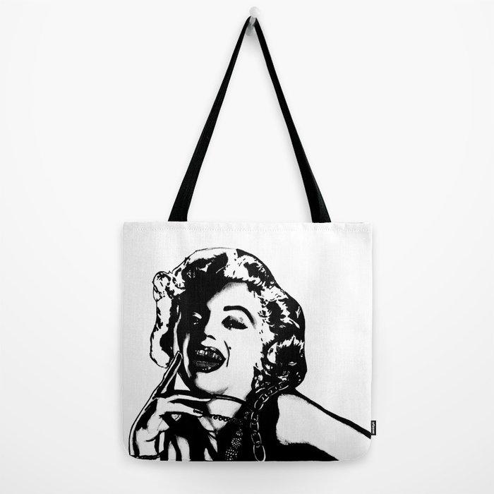 833d0aad5488 Marilyn Monroe. Rebel      Tote Bag by 161926